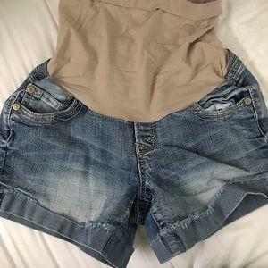 Pants - Wallflower Maternity Shorts